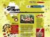 Cityscape web layout