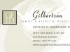 Gilbertson Esthetic Dentistry business card