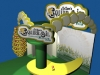 Squirr-Oil trade show booth concept